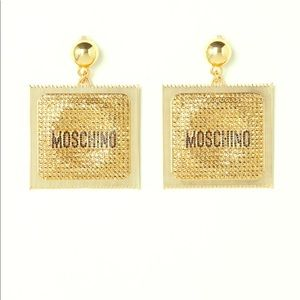 Moschino for H & M condom earrings